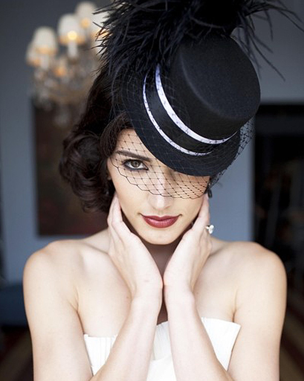 novia-sombrero
