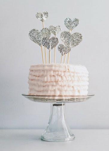 cake-topper-corazones-purpurina