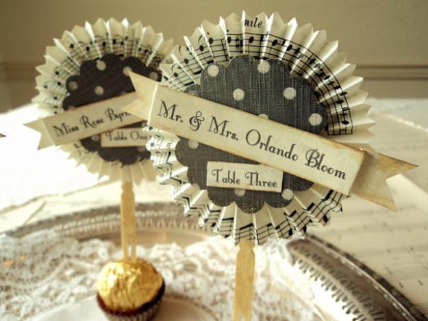 decoraci n con notas musicales colores de boda