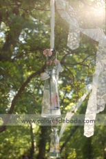Botellas colgadas