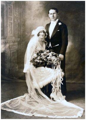 boda años 20