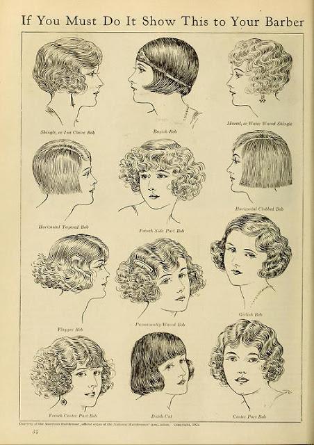 peinados años 20