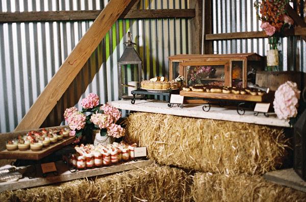 boda decoracion paja