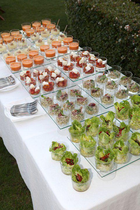 Buffet de ensaladas en tu boda colores de boda for Casa jardin buffet