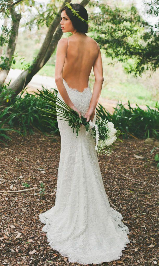 vestidos de novia: escotes en la espalda. – colores de boda