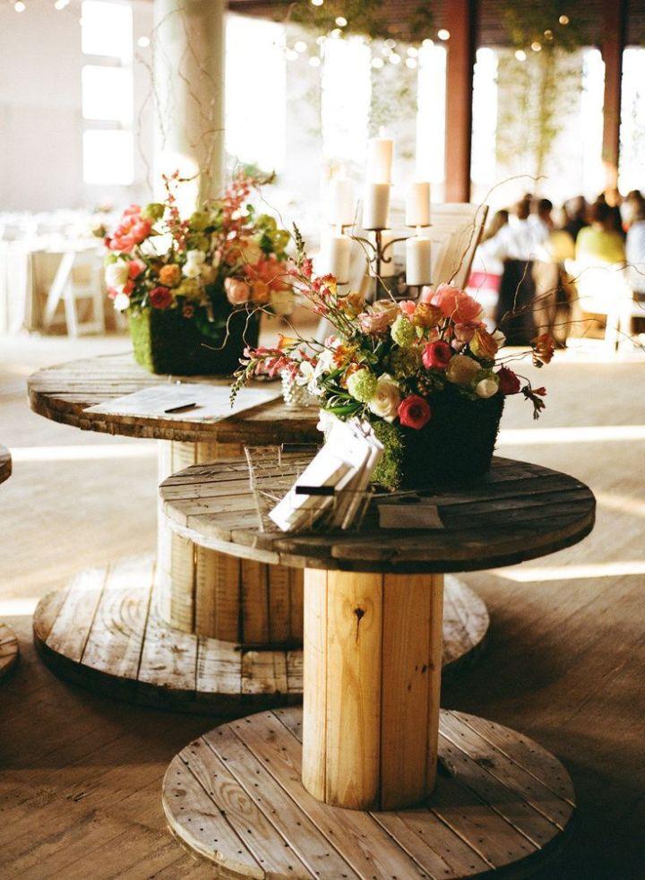 colores-de-boda-bobinas-cable-decoracion-libro firmas