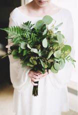 colores-de-boda-ramo-greenery-novia